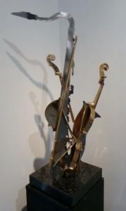 Arman - Violon et saxophone 1