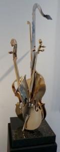 Arman - Violon et saxophone 2