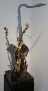 Arman - Violon et saxophone 3