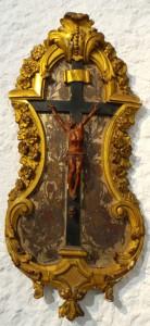 Christ en bois sculpté - XVIIIe