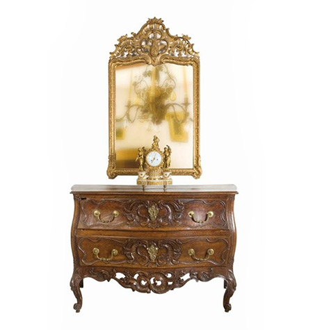 Commode-Louis-XV-miroir-funk
