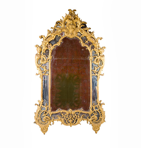 Miroir-d'époque-Régence