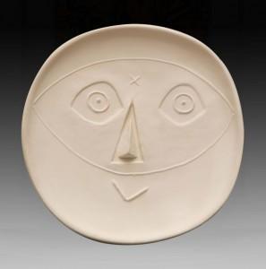 Picasso - Tête au masque