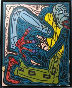 Robert COMBAS - Snake man 2