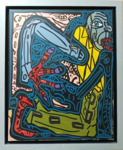 Robert COMBAS - Snake man